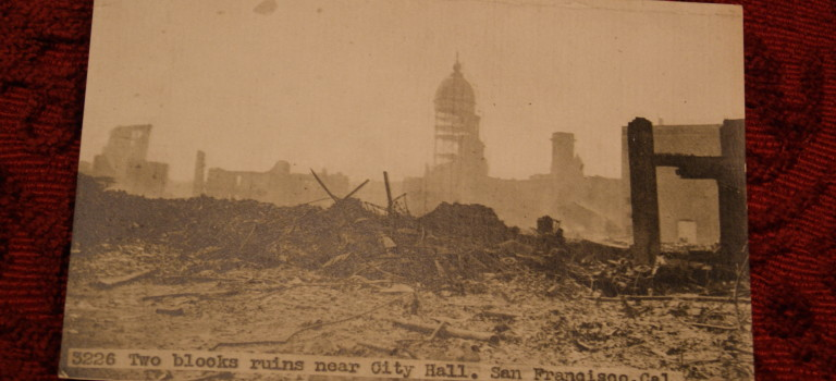 San Francisco after the earthquake